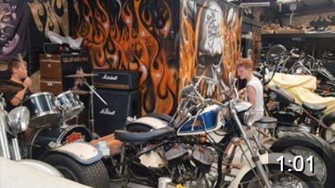 Harley Trike and Drums Feb 4 2019